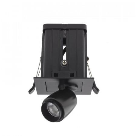 Spot LED Arelux XMicro Recessed MC03WW BK - Corp iluminat cu LED 3W 700mA 3000K 36grd. BK (5f), negru