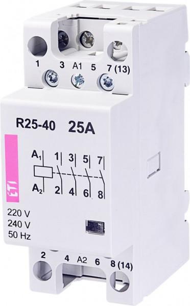 Contactor modular Eti 2462310 - R25 40 230V