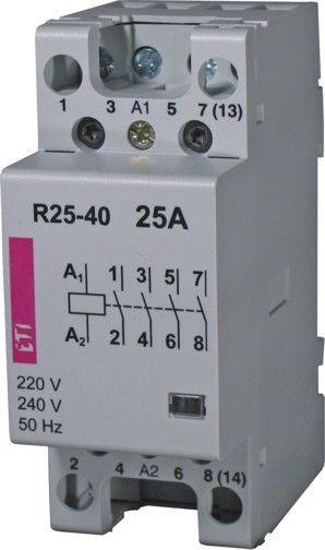 Contactor modular Eti 2462331 - R25 13 24 V