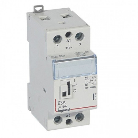 Contactor modular Legrand 412559 - CX3 CT 2P 250 V~ - 40 A - silent