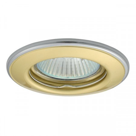 Corp iluminat Kanlux 2823 HORN CTC-3114 - Spot incastrat, Gx5,3, max 50W, 12V, IP20, auriu/argintiu
