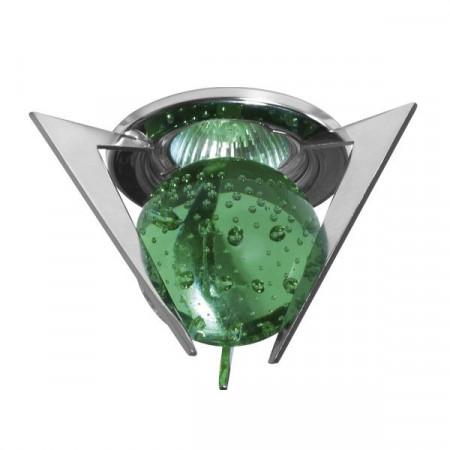 Corp iluminat Kanlux 2891 TRISTAN CTX-10+K1-C - Spot Gx5,3, max 50W, 12V, IP20, crom/verde