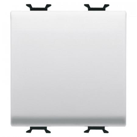 Intrerupator Gewiss GW10031F Chorus - Intrerupator simplu cu cablare rapida, 2M, 1P, 16AX, alb