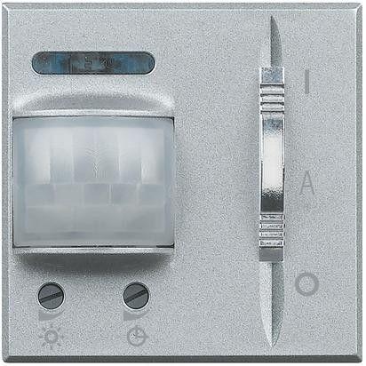 Senzor miscare Bticino HC4432 Axolute - Senzor infrarosu, 2M, 230V, 6A, argintiu