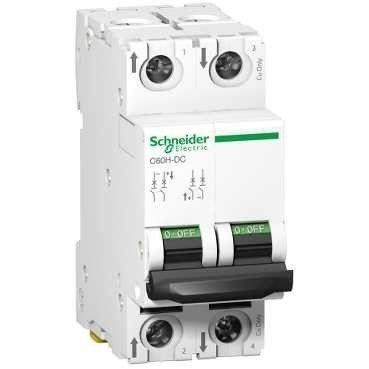 Siguranta automata Schneider A9N61532 - DISJUNCTOR C60H-DC 500Vcc 2P, 20A, 6kA, C