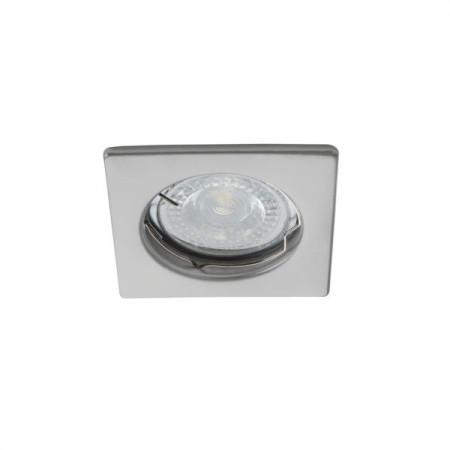 Spot Kanlux 26728 ALOR-DTL - Inel spot fix incastrat LED GU10, max 35W, IP 20, inox