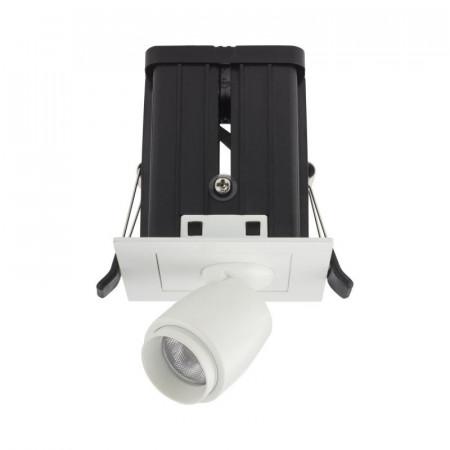 Spot LED Arelux XMicro Recessed MC03NW MWH - Corp iluminat cu LED 3W 700mA 4000K 36grd. MWH (5f), alb