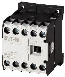 Contactor Eaton 051631 - Contactor putere DILEEM-01(400V50HZ,440V60HZ)-Contactor 3KW AC-3 1NI