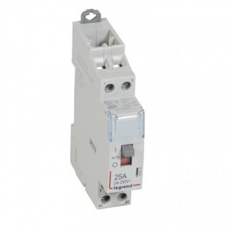 Contactor modular Legrand 412500 - CX3 CT HC 230V O+F 25A