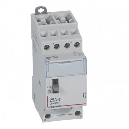 Contactor modular Legrand 412561 - CX3 CT 230V 4P 400 V~ - 25 A - silent