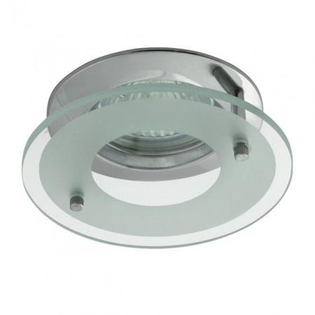 Corp iluminat Kanlux 2571 DINO CTX-DS02G - Spot incastrat, Gx5,3, max 50W, 12V, IP20, crom
