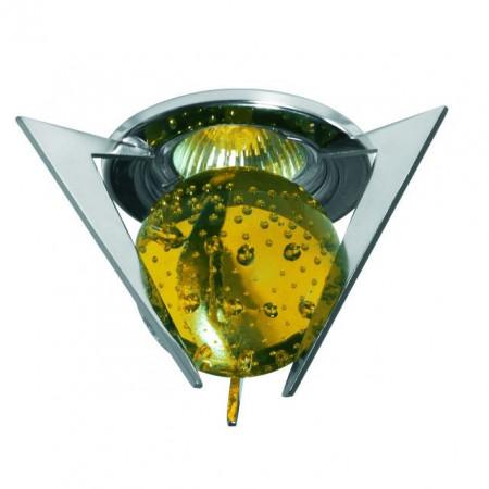 Corp iluminat Kanlux 2893 TRISTAN CTX-10+K1-C - Spot Gx5,3, max 50W, 12V, IP20, crom/opal