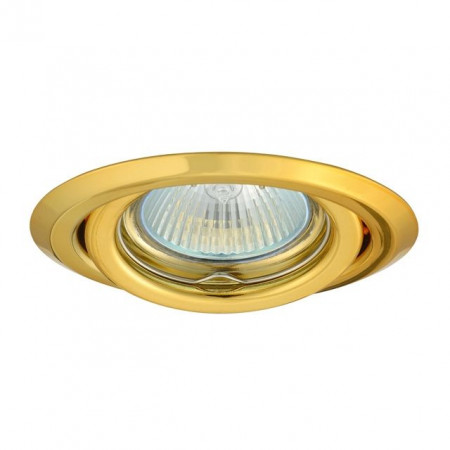 Corp iluminat Kanlux 304 ARGUS CT-2115 - Spot incastrat directional, Gx5,3, max 50W, 12V, IP20, auriu