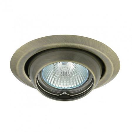 Corp iluminat Kanlux 336 ARGUS CT-2117 - Spot incastrat directional, Gx5,3, max 50W, 12V, IP20, bronz mat
