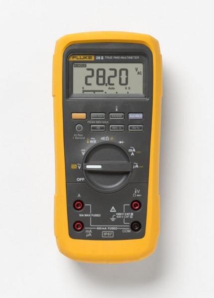 Multimetru Fluke FLUKE 28II EUR - Multimetru industrial TRMS IP67