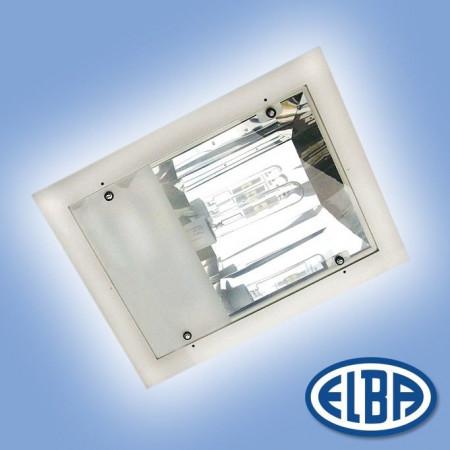 Proiector HID Elba 34661003 - PREMIUM LUX IP 66 - montaj APARENT 250W sodiu, cu gratar