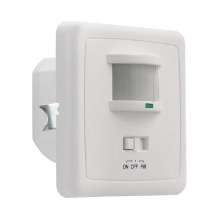 Senzor miscare Kanlux 7690 JQ-L MERGE - Senzor PIR, 150gr, max 1200 VA, IP20, alb