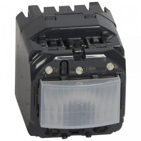 Senzor miscare Legrand 67092 Celiane - Senzor de miscare, 300W, cu neutru, comanda manuala, alb