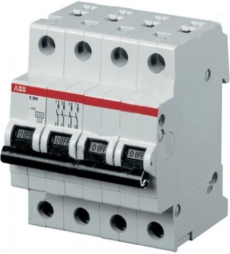 Siguranta automata ABB 2CDS244001R0324 - DISJUNCTOR SH204L- MINICIRCUITBREAKER, 4P, 32A, 4.5kA, C
