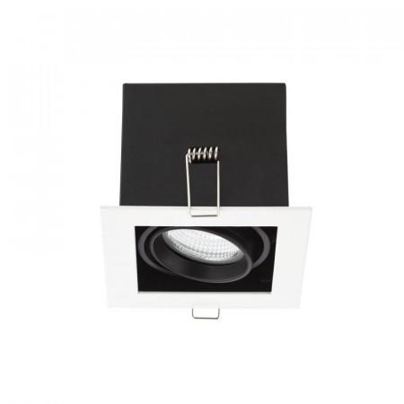 Spot Arelux XTechno TC01 MWH/BK - Corp iluminat fara bec 1X50W 12V GU5.3 IP20 S, alb/negru