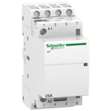 Contactor modular Schneider A9C20833 - ICT 25A 3NO 220...240VCA 50HZ CONTACTOR