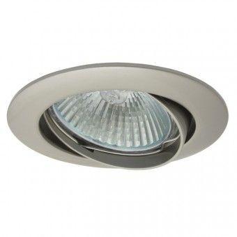 Corp iluminat Kanlux 2787 VIDI CTC-5515 - Spot incastrat directional, Gx5,3, max 50W, 12V, IP20, nichel mat