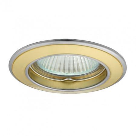 Corp iluminat Kanlux 2810 BASK CTC-5514 - Spot incastrat, Gx5,3, max 50W, 12V, IP20, auriu/nichel