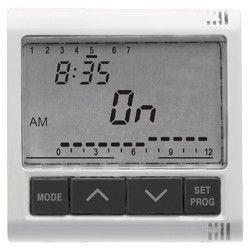 Programator Gewiss GW20825 System - ELECTRONIC TIMER 1CHANNEL Alb