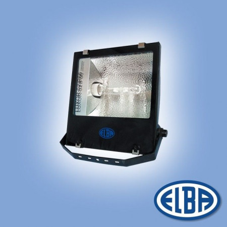 Proiector HID Elba 34631010 - LUXOR-02 IP66, IK06 100W sodiu, refl. asimetric