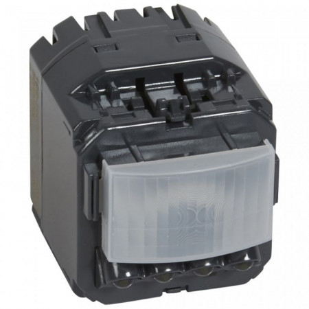 Senzor miscare Legrand 67093 Celiane - Senzor de miscare, 300W, cu neutru, comanda manuala si leduri de semnalizare