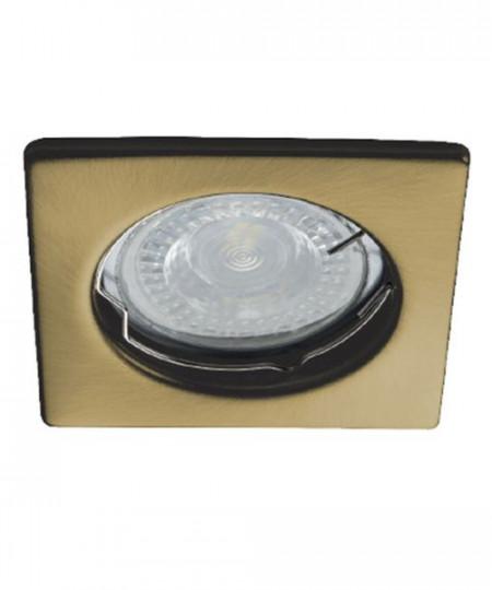 Spot Kanlux 26730 ALOR-DTL - Inel spot fix incastrat LED GU10, max 35W, IP 20, alama periata
