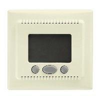 Termostat Schneider SDN6000247 Sedna - Cronotermostat cu functie confort 16 A - 230 V, bej