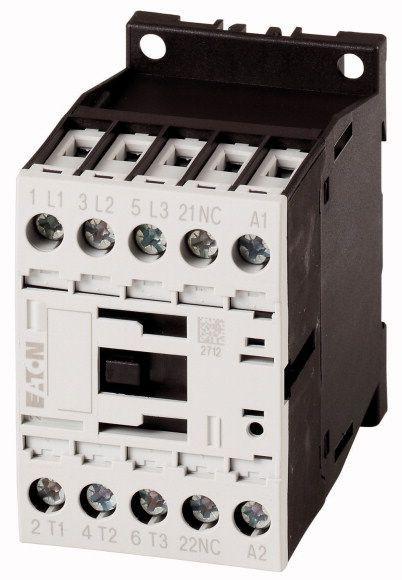 Contactor Eaton 276565 - Contactor putere DILM7-10(24VDC)-Contactor 3KW, regim AC-3