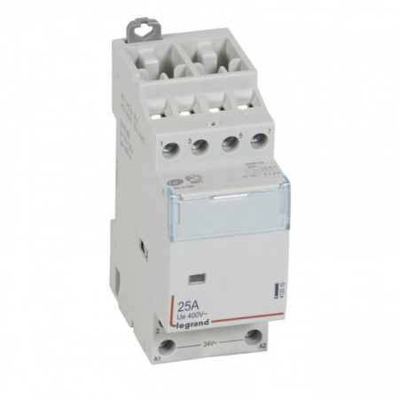 Contactor modular Legrand 412536 - CX3 CT 230V 4P 400 V~ - 25 A - 4 N/C