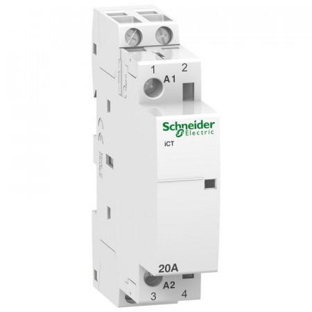 Contactor modular Schneider A9C22722 - iCT 20A 2Nd 230/240V 50Hz