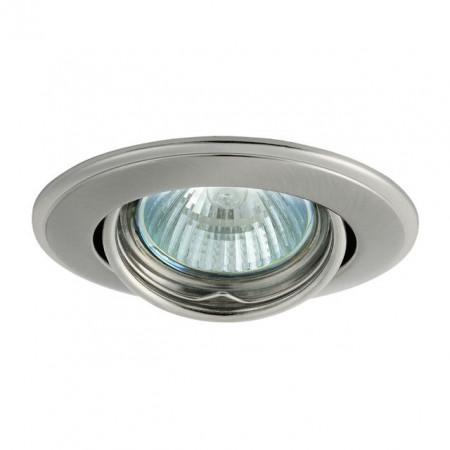 Corp iluminat Kanlux 2831 HORN CTC-3115 - Spot incastrat directional, Gx5,3, max 50W, 12V, IP20, nichel satinat