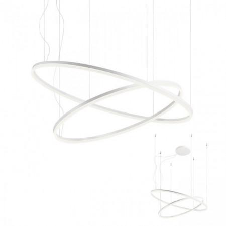 Corp iluminat Redo 01-1720 Orbit - Lustra led, 108W, 3000k, 8442lm, alb