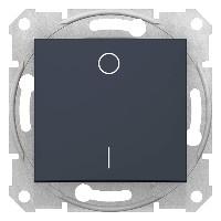 Intrerupator Schnedier SDN0200270 Sedna - Intrerupator bipolar 16 AX - 250 V, grafit