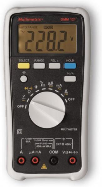 Multimetru Multimetrix DMM 121 - Multimetru digital 10A/600V, 600 V CAT III