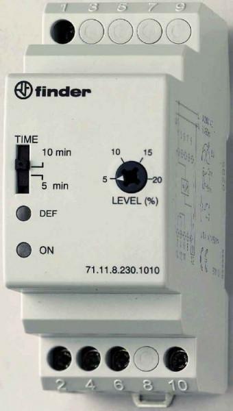 Releu Finder 711182301010 - Releu de monitorizare al tensiunii minime 230V, AC, 1C