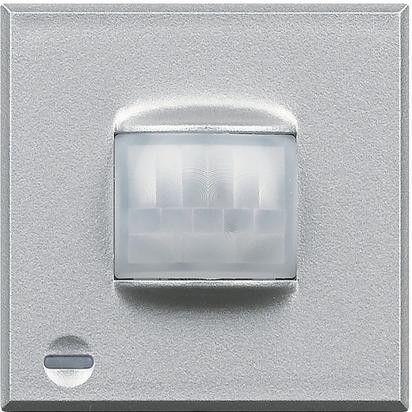 Senzor miscare Bticino HC4610 Axolute - Senzor infrarosu pasiv cu detectie volumetrica , 2M, raza de actiune 8m, 230V, 2A, argintiu