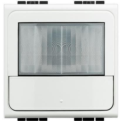 Senzor miscare Bticino N4659N Living Light - Senzor de miscare cu infrarosu, 2M, alb