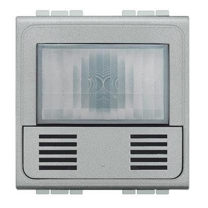 Senzor miscare Bticino NT4433N Living Light - Senzor de miscare, 2.5A, 2M, argintiu