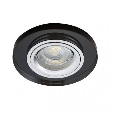 Spot Kanlux 19440 MORTA - Spot incastrat, fix Gx5,3, 1x50W, 12V, IP20, sticla negru