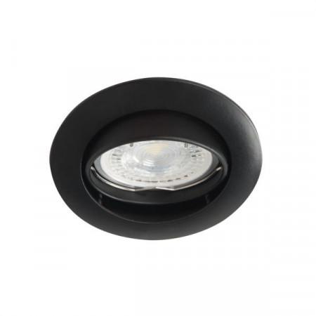 Spot Kanlux 25996 VIDI CTC - Inel spot directional incastrat GU5,3, max 50W, IP 20, negru
