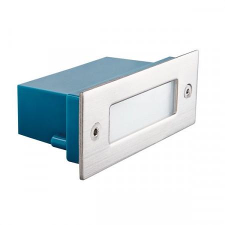 Spot Kanlux 26462 TAXI - Corp iluminat incastrat pentru trepte, 0,6W, 3000k, IP54, SMD, inox periat