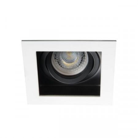 Spot Kanlux 26720 ARET - Spot incastrat, directional GU10, 1x35W, alb/negru