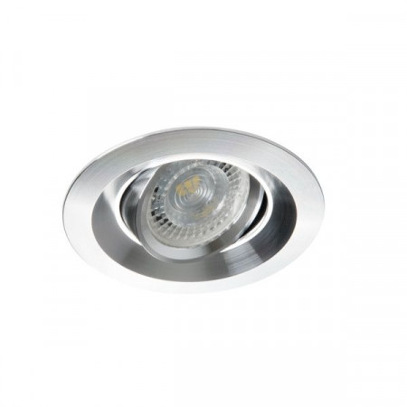 Spot Kanlux 26742 COLIE DTO - Inel spot directional incastrat LED GU10, max 35W, IP 20, aluminiu