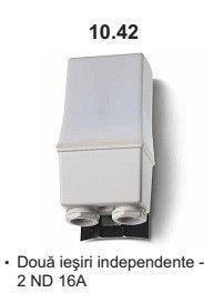 Finder 104282300000 Intrerupator Crepuscular - RELEU CREPUSCULAR FIXARE PE STALP, 2 CONTACTE ND, 16A