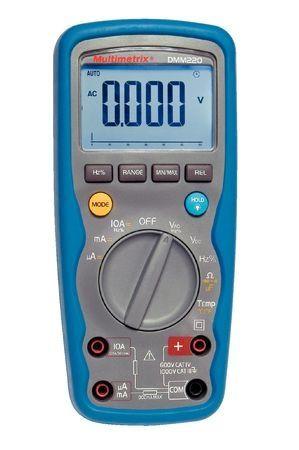 Multimetru Multimetrix DMM 220 - Multimetru digital 10A/1000V, IP67 600 V CAT IV / 1000 V CAT III